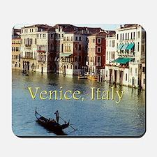 Venice Italy Souvenir Gondola Ride Photo Mousepad