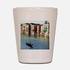 Venice Italy Souvenir Gondola Ride Phot Shot Glass