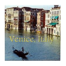 Venice Italy Souvenir Gondola Ride Ph Tile Coaster
