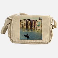 Venice Italy Souvenir Gondola Ride P Messenger Bag
