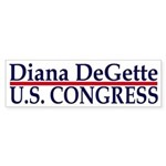 Re-Elect Diana DeGette (bumper sticker)