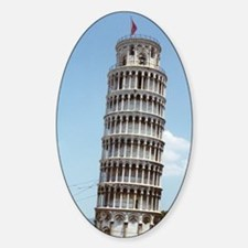 Leaning Tower of Pisa Italy Souveni Sticker (Oval)