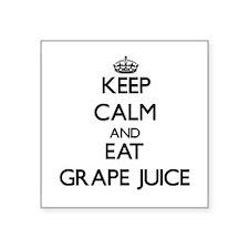 Keep calm and eat Grape Juice Sticker