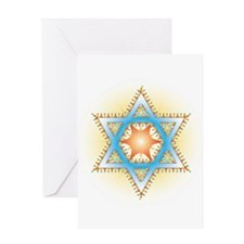 Colorful Star Greeting Cards