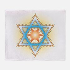Colorful Star Throw Blanket
