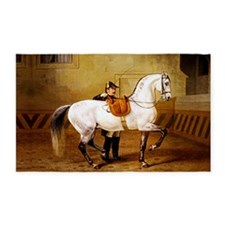 Andalusian Horse 3'x5' Area Rug