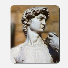 Famous David Statue in Florence Italy Mousepad