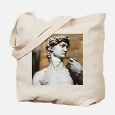 Famous David Statue in Florence Italy Tote Bag