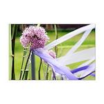 Lavender flower ball Mini Poster Print