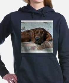 irishsettertile.png Hooded Sweatshirt