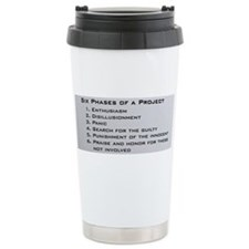 Cute Engineers Travel Mug