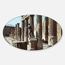 Apollo Statue Pompeii Italy Souveni Decal