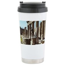 Apollo Statue Pompeii I Travel Mug