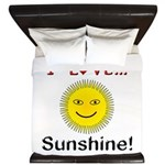 I Love Sunshine King Duvet