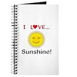 I Love Sunshine Journal