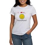 I Love Sunshine Women's T-Shirt