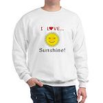 I Love Sunshine Sweatshirt