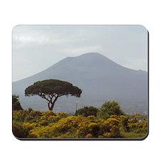 Powerful Nature Mount Vesuvius Mousepad
