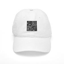 Binary in Black White Baseball Baseball Cap