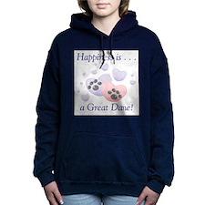 happinessgreatdane.png Hooded Sweatshirt
