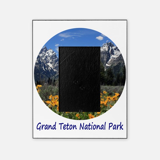 Grand Tetons National Park in Spring Picture Frame