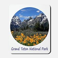 Grand Tetons National Park in Springtime Mousepad