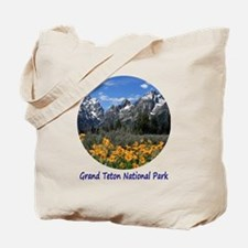 Grand Tetons National Park in Springtime Tote Bag