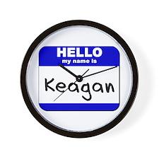 hello my name is keagan  Wall Clock
