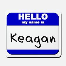 hello my name is keagan  Mousepad