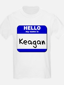 hello my name is keagan T-Shirt