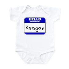 hello my name is keagan  Infant Bodysuit