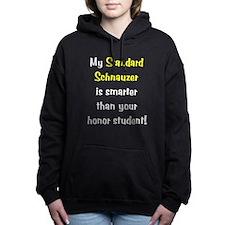 standardschnauzer-smarter10.png Hooded Sweatshirt