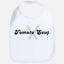 Tomato Soup (fork and knife) Bib