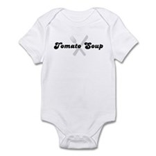 Tomato Soup (fork and knife) Infant Bodysuit