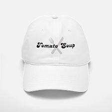 Tomato Soup (fork and knife) Baseball Baseball Cap