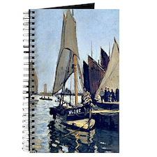 Monet: Sailing Boats at Honfleur Journal