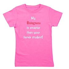 bolognesesmarter10.png Girl's Tee