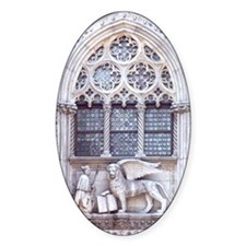 Piazza San Marco Winged Lion Cathol Decal