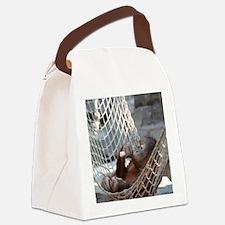 OrangUtan014 Canvas Lunch Bag