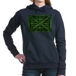 Rusty Shipping Container - green Hooded Sweatshirt