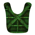 Rusty Shipping Container - green Bib
