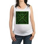 Rusty Shipping Container - green Maternity Tank To
