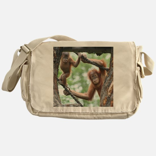OrangUtan016 Messenger Bag