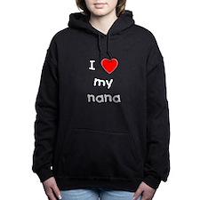 lovemynana.png Hooded Sweatshirt