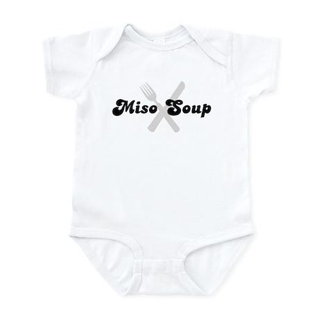 Miso Soup (fork and knife) Infant Bodysuit