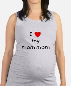 lovemymommom.png Maternity Tank Top