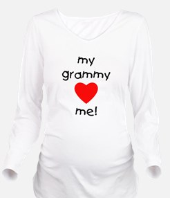 grammylovesme.png Long Sleeve Maternity T-Shirt
