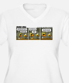 0665 - What is your job? Plus Size T-Shirt
