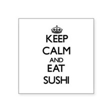 Keep calm and eat Sushi Sticker