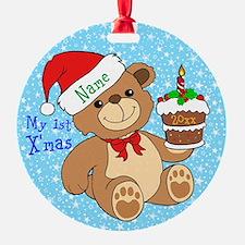 My 1St Christmas Ornament